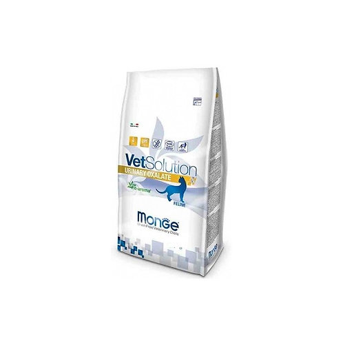 Monge Urinary Oxalate для кошек Диета для профилактики и лечения мкб оксалатного