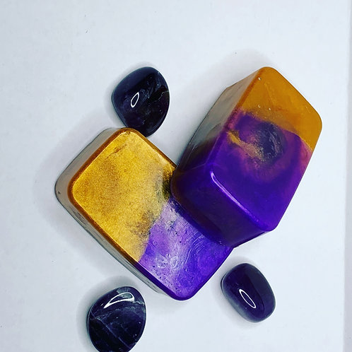 Amethyst Moon Charged Crystal Soap