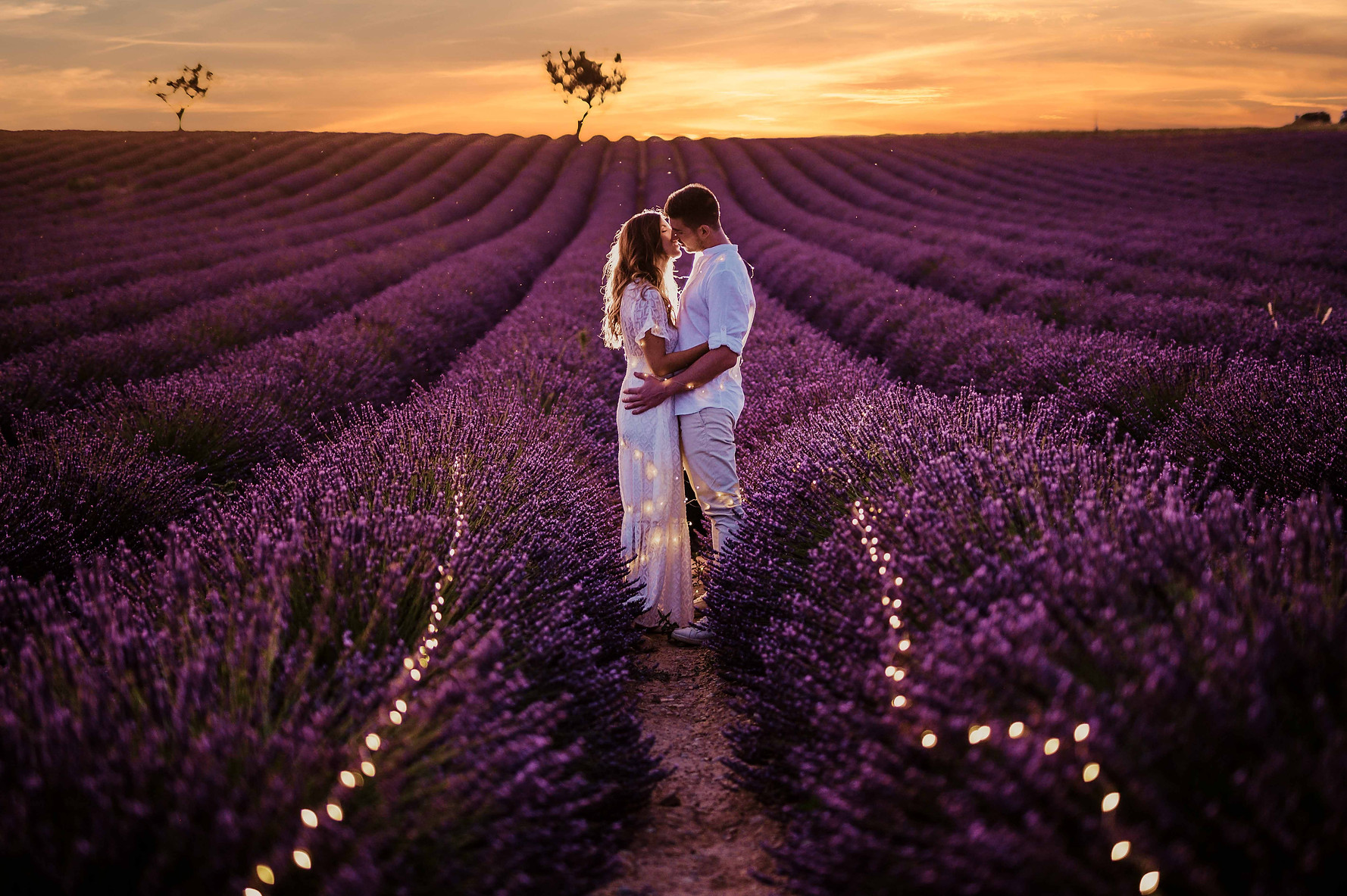 Photo engagement valensole