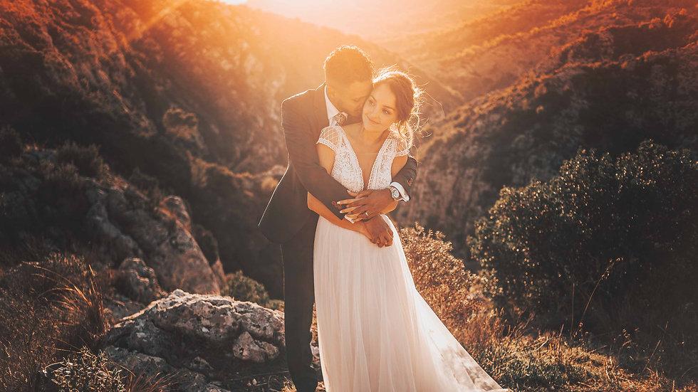 Séance photo mariage dans les calanques