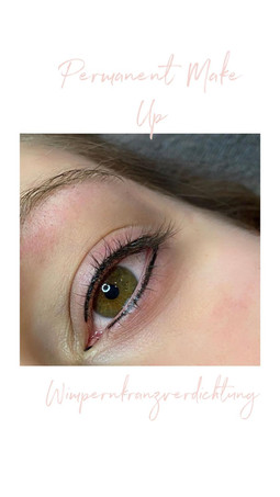 Permanent Make-Up / Wimpernkranzverdichtung