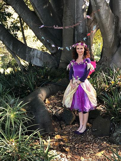 Josphine ina fairy costume