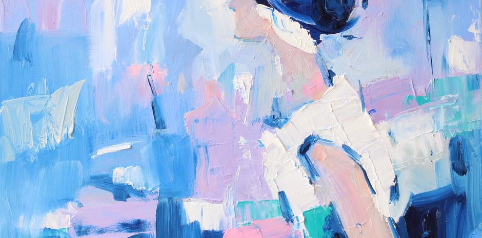 50cm (W) x 40cm (H)  Oil Paint