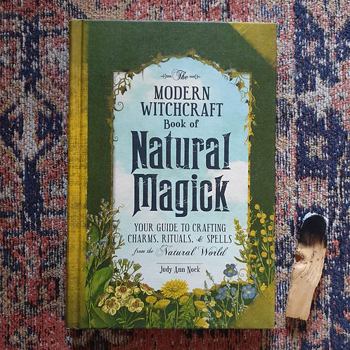 MODERN WITCHCRAFT - BOOK OF NATURAL MAGICK