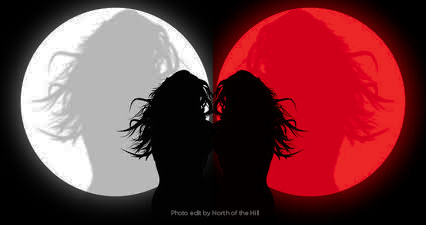 Red Moon Woman to White Moon Woman in our Current Pandemic