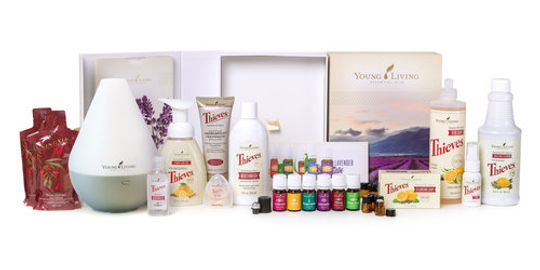 Healthy Hom starte kit. Young Living.North of the Hill. Reiki Geelong