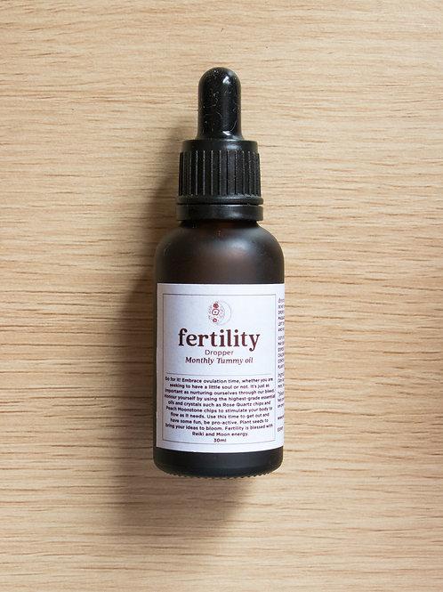 fertility TUMMY OIL DROPPER 30ml