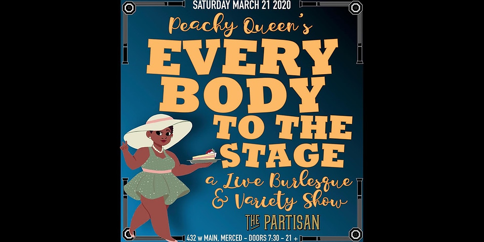 """Peachy Queen's """"Every Body To The Stage"""""""