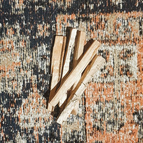 palo santo: thin BUNDLE