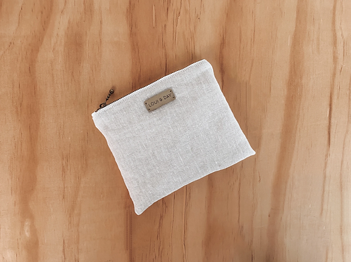 Stone Linen | Essential Oil Pouch -Loui and Day