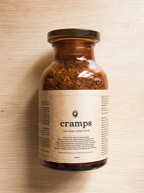 cramps - YONI STEAM 500ml