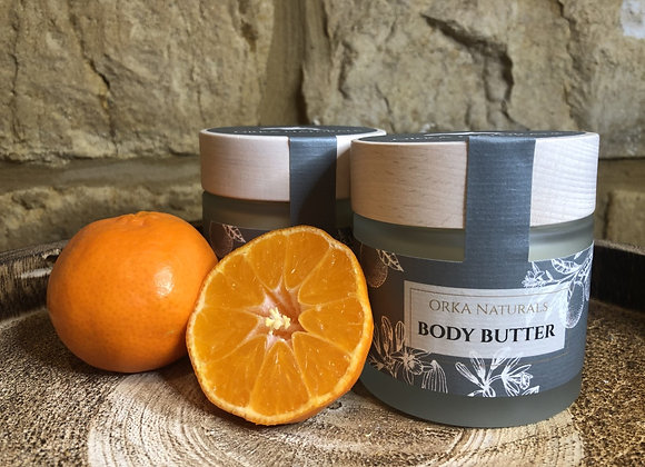 Calendula Body Butter with Mandarin & Vanilla