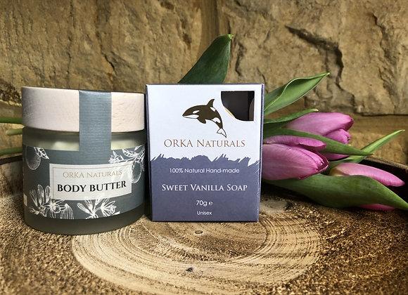 Lavender Body Butter & Vanilla Soap