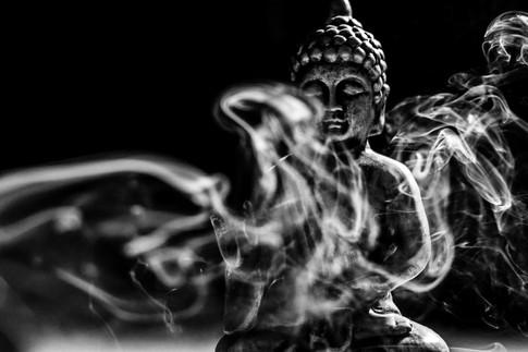 Buddha in Smoke