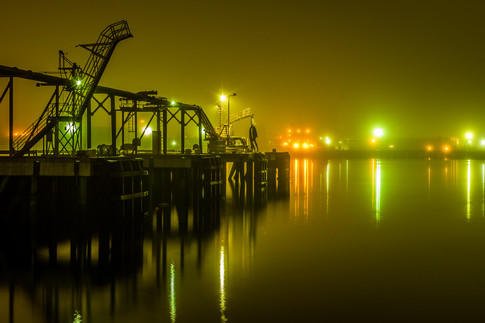 The Docks at Night