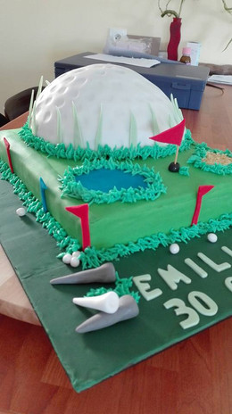 Gâteau Cake design anniversaire - Birthday cake