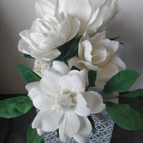 Grandes et petites Gardenia - Fleur en gumpaste