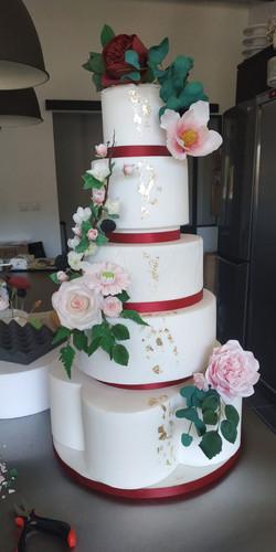Wedding cake / gâteau de mariage
