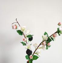 Fleur en gumpaste