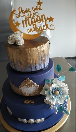 Wedding Cake - Gâteau de mariage Olivia & Kévin