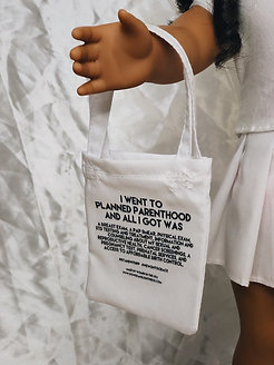 Give a little- Planned parenthood tote (pre-order)