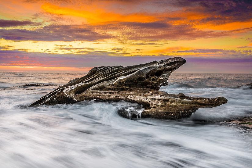 Ocean Rocks Print
