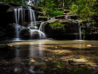 Hunts Creek Waterfall, Sydney Australia