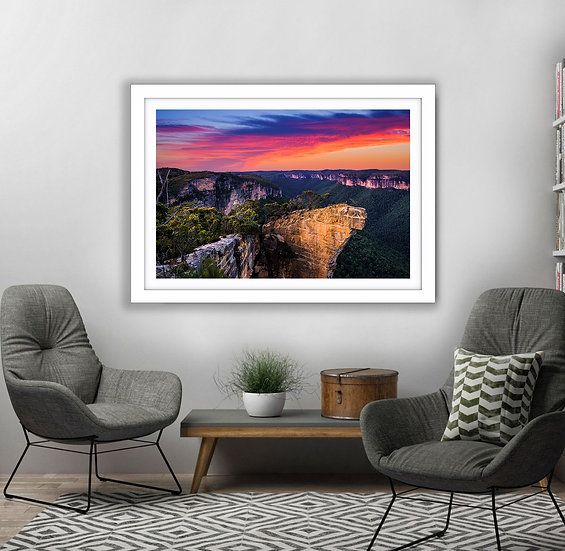 Hanging Rock Picture Frame