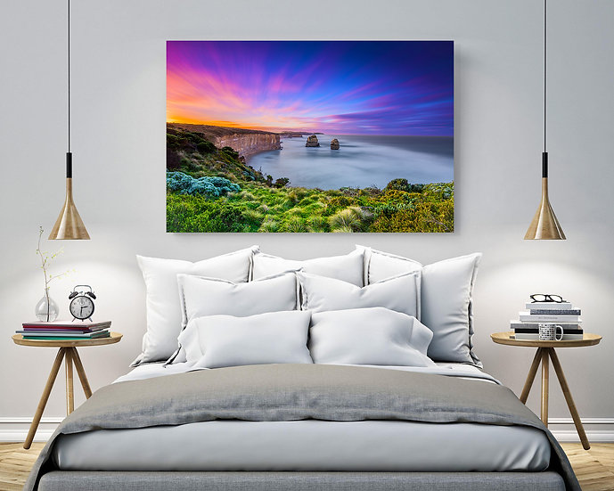 Great Ocean Road Stretched Canvas