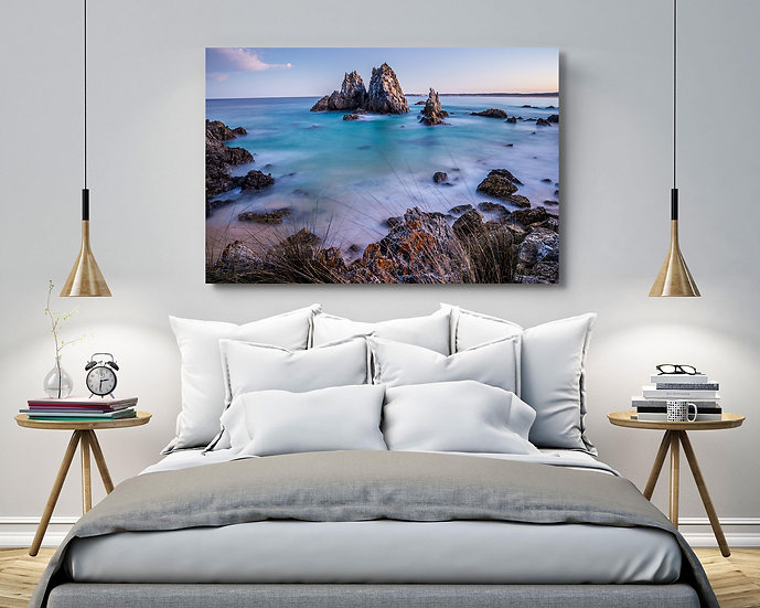 Camel Rock Stretched Canvas
