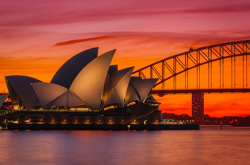 Sydney Harbour Sunset Print