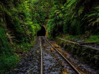 The Old Helensburgh Railway Tunnel, NSW Australia