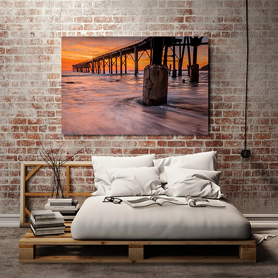 Catherine HIll Bay Stretched Canvas