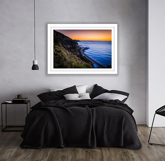 Sea Cliff Bridge Picture Frame