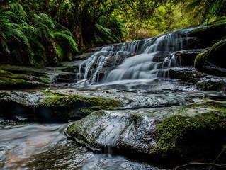 Leura Falls,Blue Mountains Australia