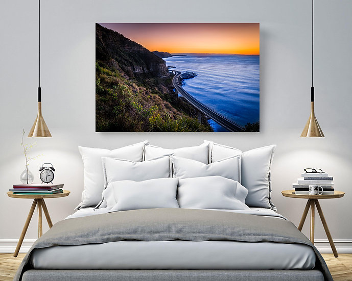 Sea Cliff Bridge Stretched Canvas