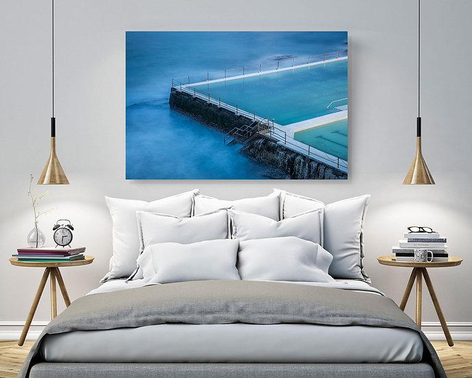Bondi Beach Stretched Canvas