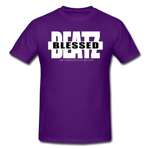 Blessed Beatz Purple Tee