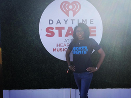 Blogger Represents Blessed Beatz at #IheartMusicFestival in Las Vegas