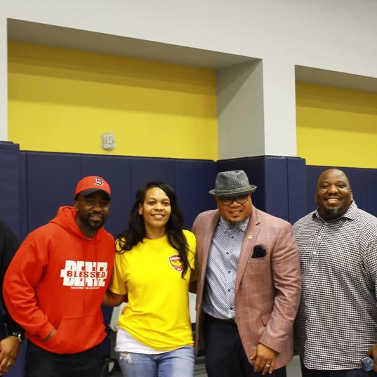 Blessed Beatz @ Fallbrook Career Fair