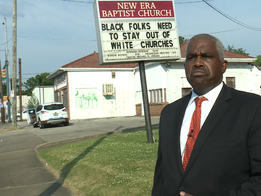 Black Pastor & Birmingham Mayor Speak Out Against Church Sign Saying 'Black Folks Need to Stay O