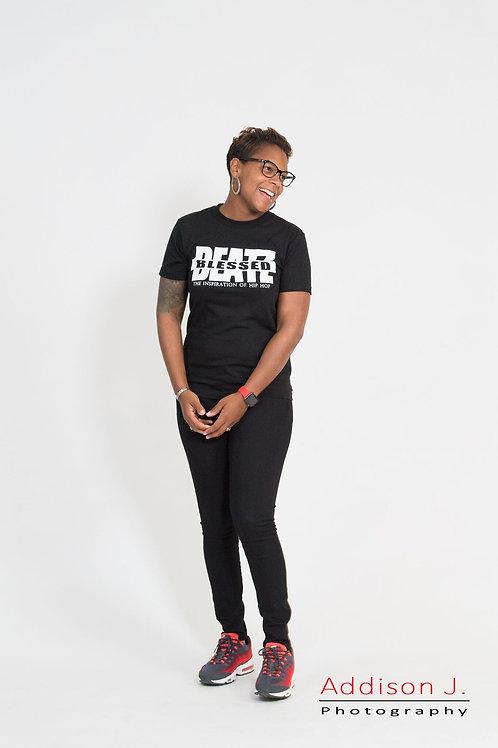 Blessed Beatz Classic T-shirt (Black & White)