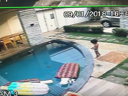 7-Year-Old Dramatically Saves Toddler From Drowning
