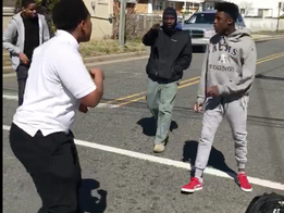 After school street fight takes major turn!!!! Watch what happens next