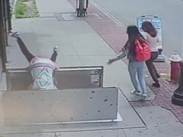 Woman Falls 6ft Down While Texting and Walking