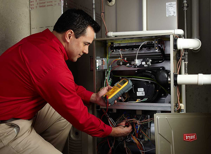 bryant-furnace-service heater repair Mil