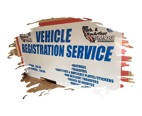dmv vehicle registration services in tra