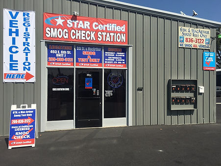 Smog Check in Tracy California. Star certified smog check in tracy california
