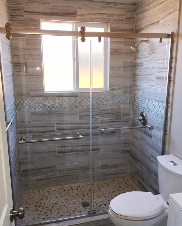 glass shower doors glass shower door ins