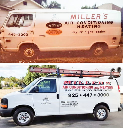 Miller's Air Conditioning & Heating in Livermore HVAC Company in Livermore Tri-VALLEY hvac Co...ctor